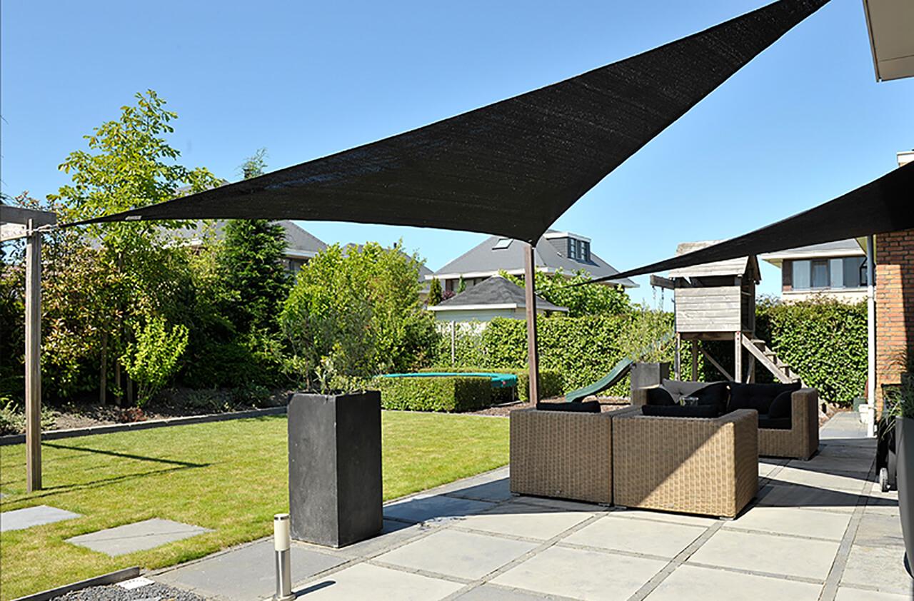Żagiel przeciwsłoneczny dla domu i ogrodu
