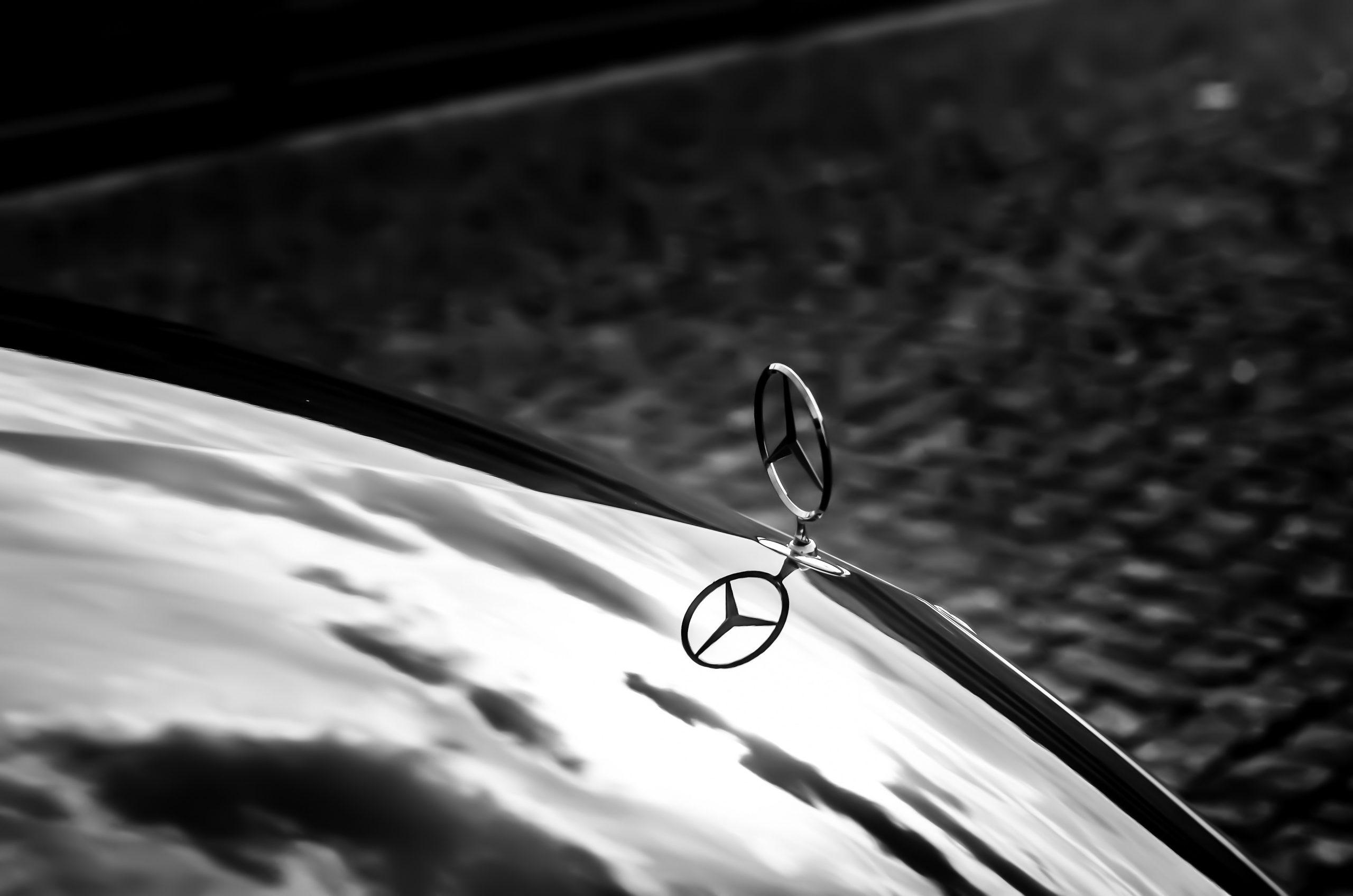 Blokada kierownicy Mercedes