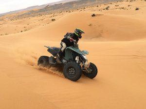 Quad na pustyni