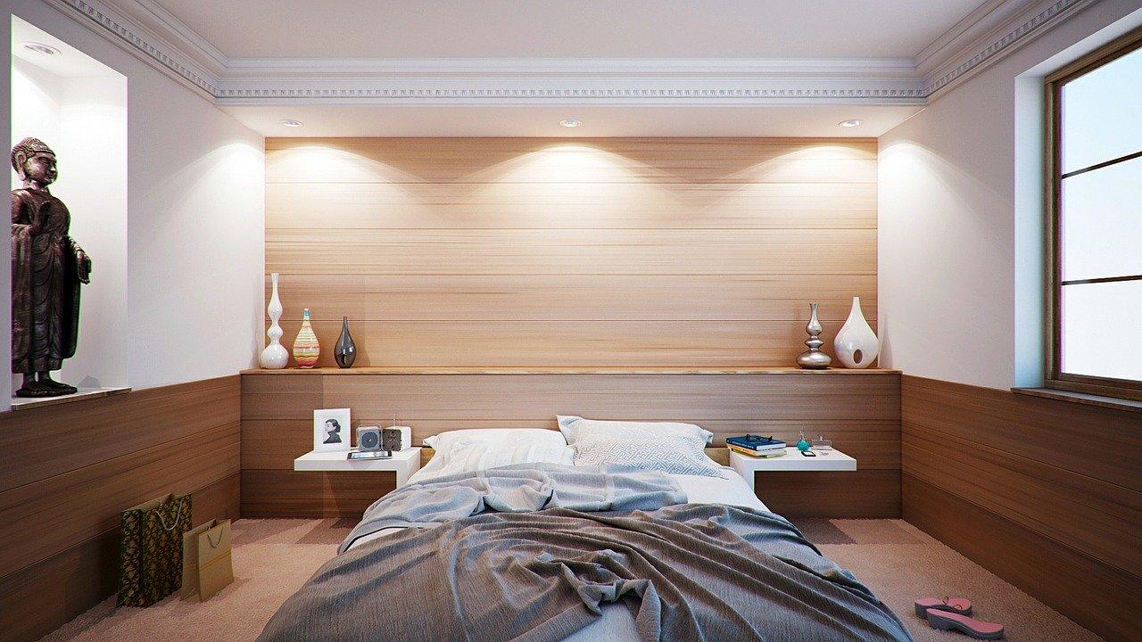 Sypialnia w różnych stylach