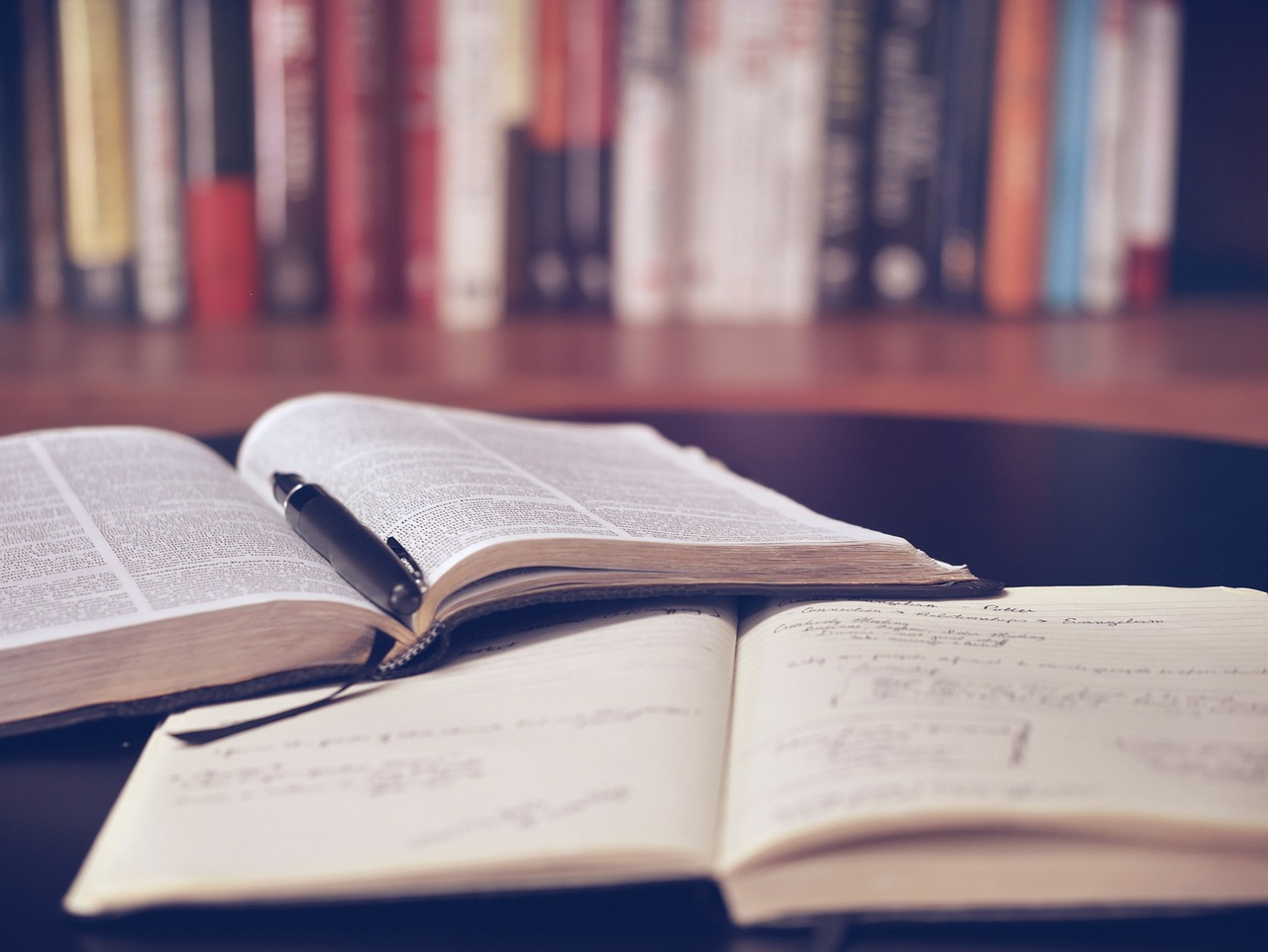 Księgarnia z książkami katolickimi